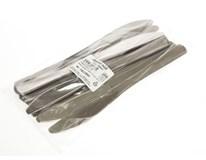 Nůž plastový metalický 10ks