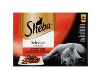 Sheba Steamed&Tender masové menu kapsička pro kočky 12x85g