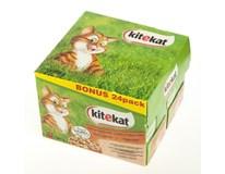Kitekat Mix menu kapsičky pro kočky 24x100g bonus pack