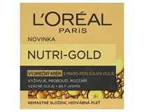 L'Oréal Nutri-Gold výjimečný krém s mikro-perličkami oleje 1x50ml