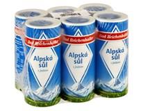Solsan Bad Reichenhaller Alpská sůl s jódem slánka 6x500g