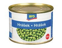 ARO Hrášek sterilovaný 10x180g