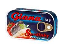 Giana Sardinky v tomatě 5x125g