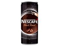 Nescafé Black Roast káva ledová 24x250ml plech