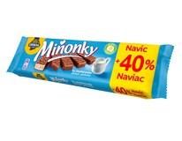Opavia Miňonky smetanové oplatky 1x50g + 40% navíc
