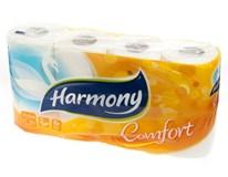 Harmony Comfort Toaletní papír bílý 2-vrstvý 1x8ks