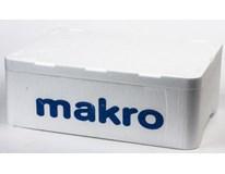 Box/bedna polystyrenová s víkem nosnost 5kg 29x14,5x39,5cm 1ks