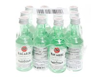 Bacardi Carta Blanca Mini rum 40% 12x50ml