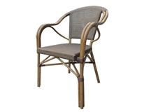 Židle Novara Metro Professional bambus/ PVC ratan. výplet 1ks