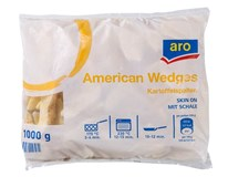 ARO Wedges Americké brambory mraž. 10x1kg
