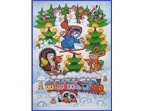 Adventní kalendář medvídek 1x50g