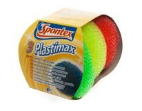 Drátěnka plastová Spontex 3ks