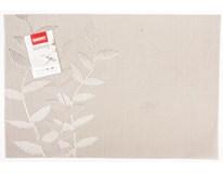 Prostírání PVC 45x30cm 1/2 list béžové 1ks