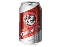 Gambrinus Original 10° pivo světlé výčepní 24x330ml plech