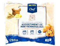 Horeca Select Mini zákusky máslové mix 1280g (48ks)