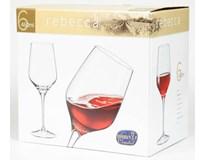 Sklenice na víno Bohemia Crystal Rebecca 460ml 6ks