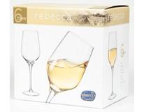 Sklenice na víno Bohemia Crystal Rebecca 350ml 6ks