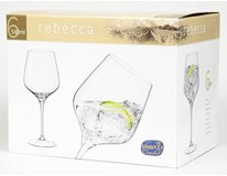 Sklenice na víno Bohemia Crystal Rebecca 54cl 6ks