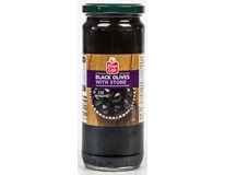 Fine Life Olivy černé s peckou 280/300 1x467ml