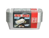 AluFixBox Miska na paštiku hliníková 3-4kg 870ml 25ks