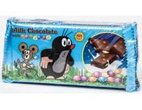 Krteček Mléčná čokoláda s dražé 4x100g