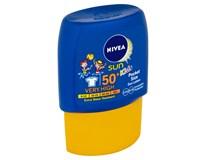 Nivea Opalovací mléko dětské cestovní OF50 1x50ml