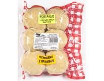 Knedlíky bramborové s uzeným masem 6ks chlaz. 1x900g