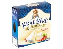 Král sýrů Hermelín maxi chlaz. 1x200g