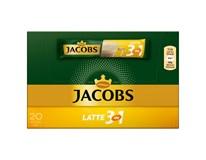 Jacobs Café latté káva instantní (porce 20x12,5g) 1x250g
