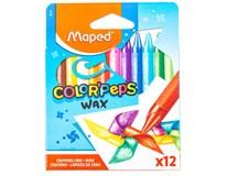 Voskové pastelky Maped Color'Peps Wax 12ks