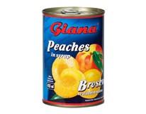 Giana Broskve ve sladkém nálevu 8x425ml