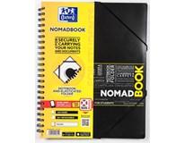 Blok Oxford Nomadbook spirálový, linkovaný A4 80listů 1ks