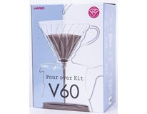 Set na filtrovanou kávu V60 plast 1ks