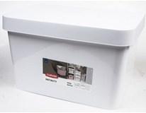 Box úložný s víkem Infinity 17L bílý 1ks