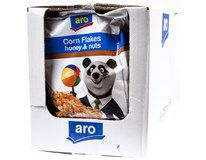 ARO Cornflakes Honey/Peanut 6x250g