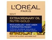 L'Oreall Nutri-Gold Rozjasňující noční krém 1x50ml