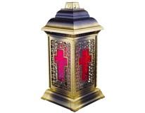 Hřbitovní lampa vitráž 1x1ks