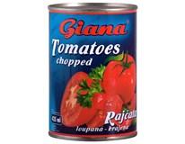 Giana Rajčata krájená 8x425ml