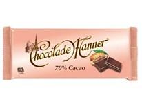 Manner Čokoláda 70% kakao 1x150g