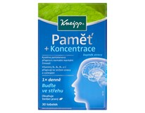 Kneipp Paměť + koncentrace 1x30 tablet