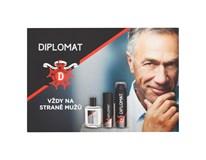 Diplomat Classic Balzám po holení +deo+pěna 1x500ml
