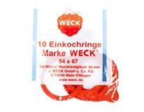 Gumičky pro sklenice Weck 10ks