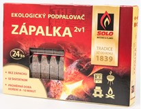 Podpalovač Zápalka Solo 2v1 1ks