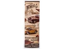 Wheels Choco Chips Hazelnuts tenké čokoládové plátky 1x125g