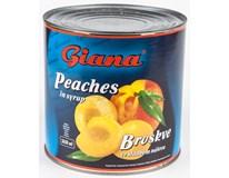 Giana Broskve půlené 1x2650ml