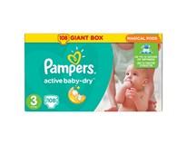 Pampers Plenky Active Baby Giant box Maxi S4 7-14kg 1x90ks