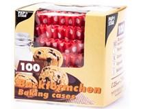 Košíčky muffin vzorované 100ks