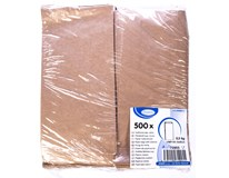 Svačinové sáčky papírové hnědé 0,5kg 1x500ks