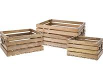 Bedýnka dřevěná sada 3ks