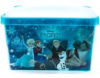 Box Disney Frozen Curver L transparentní 1ks